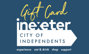 Exeter, City of Independents  Gift Card